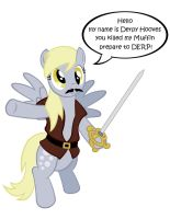Derpy Hooves as Inigo Montoya by NoXogz