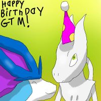 GTM's birthday by HoneyShuckle