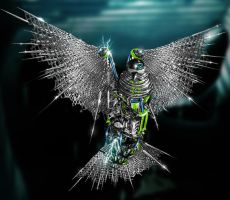 Cybergenic Bird by AnthonyHearsey