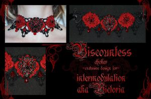 Viscountess choker by redLillith