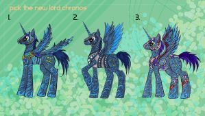Pick the new Lord Chronos! by KyuubiNight