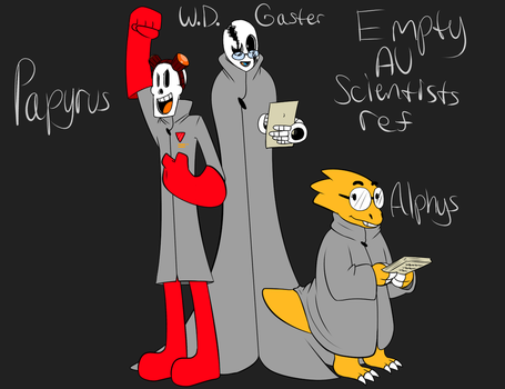 Empty AU Scientists ref by ReneesDetermination
