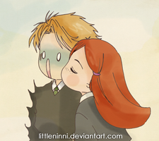 Girls' kisses have germs by LittleNinni