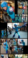 Megaman Cosplay SDCC 2012 Mashup! by Cerberust