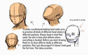 Anime Character Tutorial no 2: The head by moonwisher