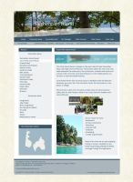 Perhentian Islands Webdesign by Crosseout