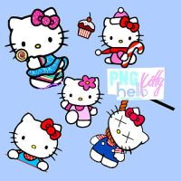 PNG. hello kitty by Naturallyselena