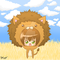 Chibi Lion by rainbowstache