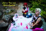 Tea Party with Tiny Tina by Zeveelia