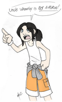 You tell em Little Chell by Inverted-Mind-Inc
