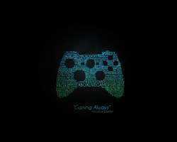 Typography wallpaper by xboxlivegamer