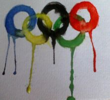 Olympic Rings tat design by wittlecabbage