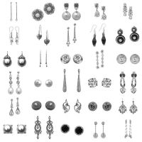 30 Pairs Earrings PS Brushes 3 by Anavrin2010