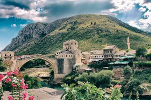 Old Bridge of Mostar by cahilus