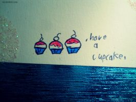 .have a cupcake. by taintedxblissx