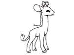 FTU MS Paint friendly Giraffe by Jemanite