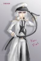 UTAU | Koru Fivet Captain re-draw by SpanishPandaHero