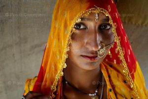 A Traditional Rajasthani Woman by poraschaudhary