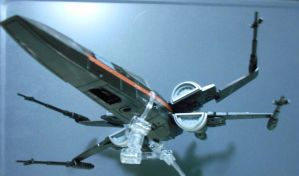 Black 1, Poe Dameron's new X-wing (flight) by Witchenboy13