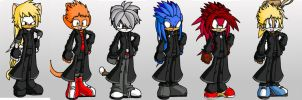 MFDs: The Organization XIII by ToothandFang