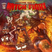 Witch Fight print version by WacomZombie