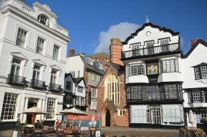Cathedral Close, Exeter by Irondoors