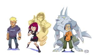Characters by donsimoni