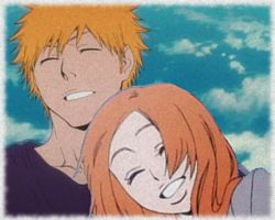 ichihime hug by Bleach-Fairy