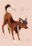African Wild Dog, Ryft by Daiko-n