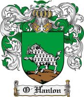 O'Hanlon Family Coat of Arms by KendraKickz0220