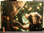 Groot and Rocket Raccoon - Guardians of the Galaxy by sandmannder3
