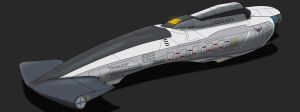 Chronicles of Man Acheilus Class Destroyer by AdamKop