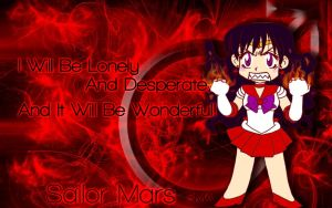 SMA - Sailor Mars by EssJay89