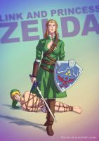 Princess Zelda BADASS by Tohad