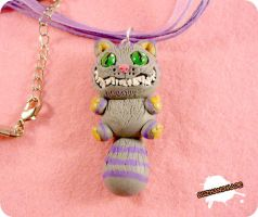 FIMO - The Cheshire Cat by buzhandmade