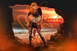 Chandra the Eternal Flame by Eldunayri