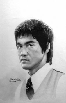 Bruce LEE by teomanmete