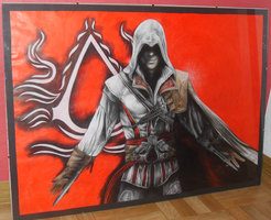 Assassins Creed II - Drawing by Atompilz94