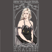How to train your Khaleesi by BlossomingMay