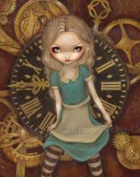 Alice in Clockwork by jasminetoad