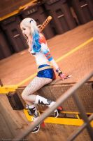 Suicide Squad Harley by RACHEL-NYCOLE