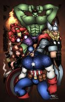 Avengers by Rantz COLORS by ProjectDJ