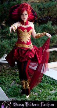 Steampunk Dark Phoenix Costume by DaisyViktoria