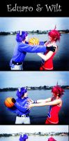 Foster's Home Cosplay 3 Kiss by Murdoc-lein