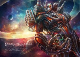 CF Poster: St Michael by Wolfie-chama