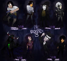 InK Round 3 Roster by Hipster-Coyote