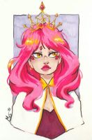 The Pink Queen by whiny-hyena