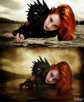 Lady of The Lake Old - New by Dylan-White