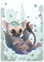 Trico Chibi - Fanart The Last Guardian by o0dzaka0o