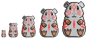 Pixel Wicket Brush God by Steffanic